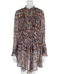 Bl-nk - Revalio Dress Multi With Metallic Stripes - Lyst