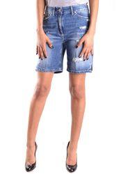 Dondup Cotton Shorts - Blue