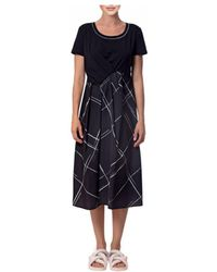 Crea Concept - Dress Black / White 29004 - Lyst