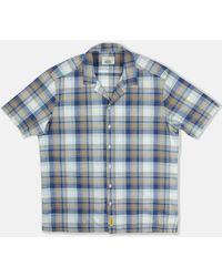 B.D. Baggies Bd Baggies Lhawai Shirt - /beige/white - Blue