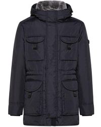 Peuterey Men Siba Coat Blue 215