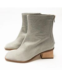 Paloma Wool Saturno Leather Boot   Gray