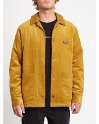 Volcom | Benvord Jacket | Gold Yellow