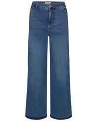 Mos Mosh Reem Vera Jeans , Title:blue - Pink