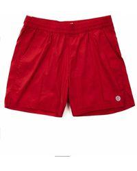 Deus Ex Machina Glide Swim Shorts - Jester - Red