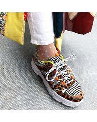 Shoe The Bear Gwen Animal Chunky Trainer - Multicolour