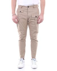 DSquared² Pants Regular - Natural