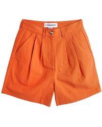 L.F.Markey Henry Burnt Orange Shorts