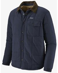 Patagonia Chaqueta Isthmus Quilted Shirt - New Navy - Blue