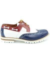DSquared² Dsquared White Brogues - Blue
