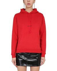 Saint Laurent Hoodie - Red