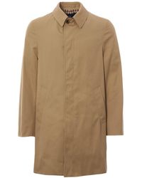 Aquascutum Broadgate Raincoat Camel - Brown