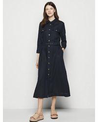 Marella Penny Shirt Dress 32211012 - Blue