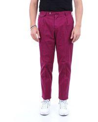 PT Torino Pants Cargo Men Plum - Purple