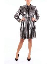 Isabelle Blanche Paris Polyester Dress - Metallic