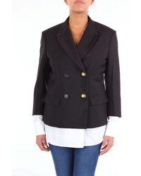 N°21 Nã'â°21 Jacket Women Black And White