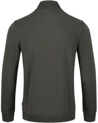 Ted Baker - Men's Leevit Half Zip Funnel Neck Jumper - Lyst