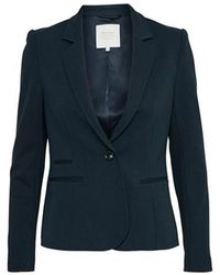 Part Two Cannes Navy Blazer - Blue