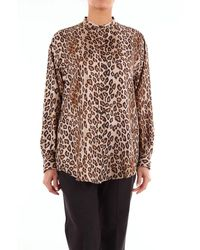 Alberto Biani Generic Leopard Shirt - Multicolor