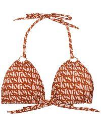 Love Stories Joy Padded Bikini Top | |â - Brown