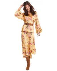Odd Molly Love Bells Skirt Sahara Sun - Yellow