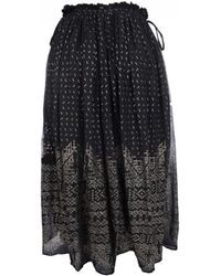 Mes Demoiselles - Byzantine Skirt In Black - Lyst