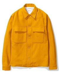 Norse Projects Kyle Wool Mustard Yellow