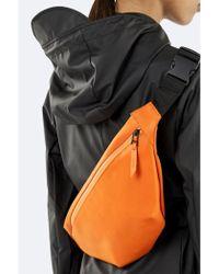 Rains - Fire Orange Bum Bag - Lyst
