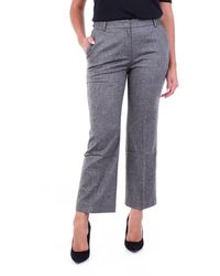 Purotatto Trousers Regular Black And Grey