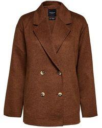 SELECTED Lena Handmade Jacket/blazer - Daschund - Brown