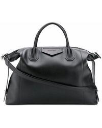 Givenchy Men's Bk507nk0zz001 Black Leather Travel Bag