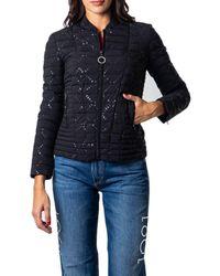 Guess Women's W0yl81wcog0black Black Polyester Down Jacket