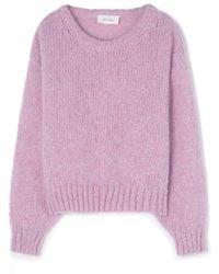 American Vintage Vogbay Sweater - Purple