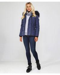 Oakwood - Medaille Fur Trim Jacket - Lyst
