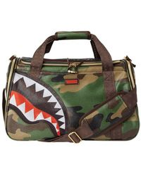 Sprayground Camo Shark Pet Carrier Bag - Multicolour