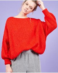 American Vintage - Boolder Coque Red Knit - Lyst