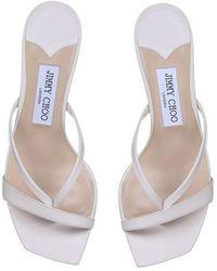 Jimmy Choo Sandals White