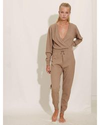 Underprotection • Kimmy Jumpsuit • Camel - Brown