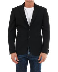 Tonello Black Wool Jacket