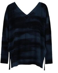 Lamberto Losani Women's Lmtmagdaac1st047436306 Blue Other Materials Sweater
