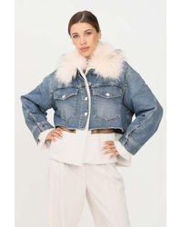 Pinko Coats - Blue
