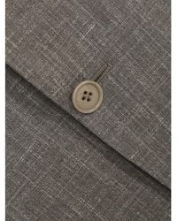 Canali - Silk And Linen Suit (grain) - Lyst