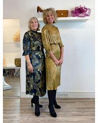 Conditions Apply Jadwiga Dress Golden - Brown
