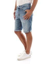 Calvin Klein Jeans Shorts E Bermuda Uomo Blu - Blue