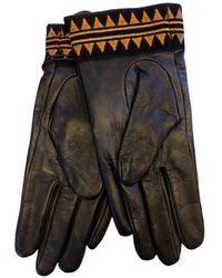 Scotch & Soda Scotch & Soda Leather Gloves - Multicolour