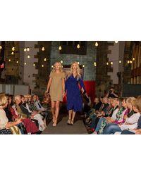 iBlues Breda Jersey Dress In Beige - Metallic