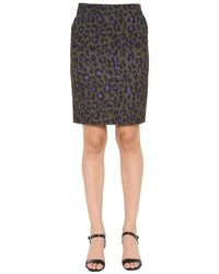 Boutique Moschino Women's 010461551440 Green Polyester Skirt