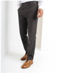Gibson - Taupe Donegaul Trousers - Lyst