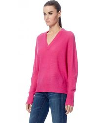 360cashmere Orchid Callie Cashmere Jumper - Pink