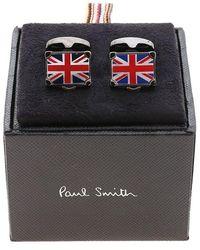 Paul Smith Flag Suitcase Cufflinks - Blue